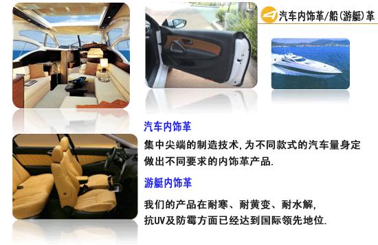 Yacht automotive interior leather