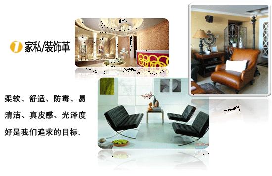 Furniture / decorative leather